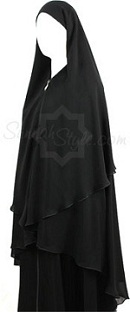 3 layer yemeni khimar