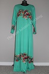 abaya-floral-diamente-turquoise