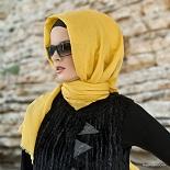 aminah bamboo shawl