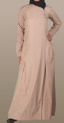 beige casual jilbab