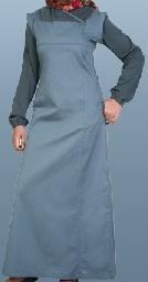 blue cotton casual jilbab
