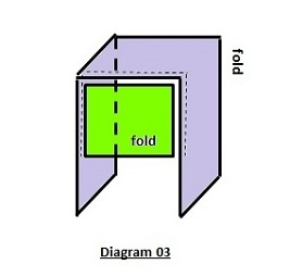 Bonnet style underscarf sewing pattern diagram 03