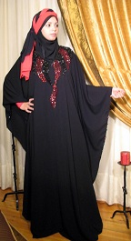 Butterfly abaya from 2Hijab