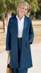 classic denim coat
