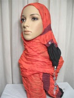 dangling pendant shawl hijab