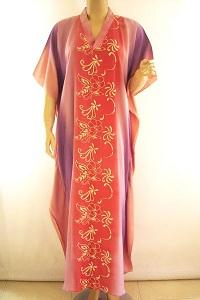 Floral Batik Kaftan