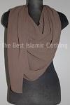 half moon maxi hijab