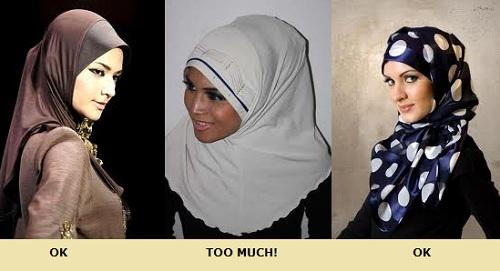 hijab flower clip hijab style