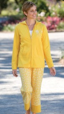 hoodie crop pant women activewear set