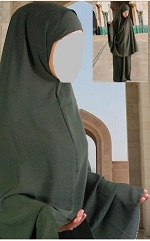 Egyptian Long Khimar
