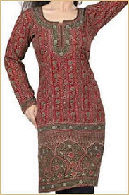 long Indian kurti tunic