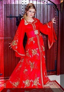 moroccan-red-kaftan
