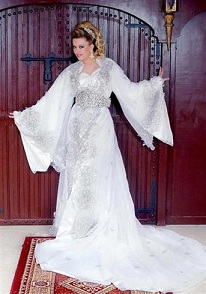 moroccan-white-wedding-dress-caftan