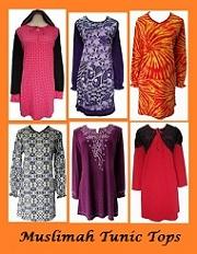 muslimah tunic tops