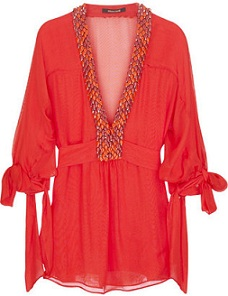 red-kaftan-top