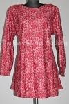 tunic lace print