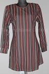 tunic stripe print