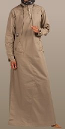 brindle casual jilbab