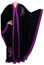 Butterfly abaya from Haya Couture