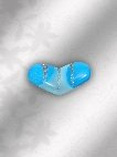 heart shaped hijab pin