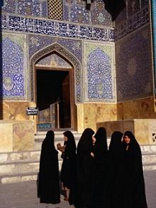 iran chador