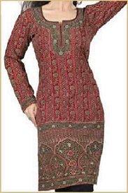 long Indian kurti tunic