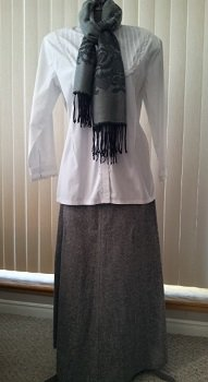 long skirt suit