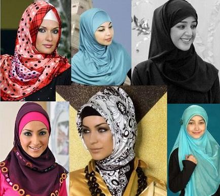 various hijab styles