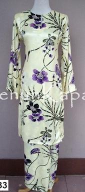 woven cotton baju kurung