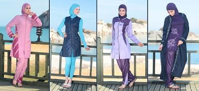 Muslimah Fashion 2012 on 2012 Collection   Burqini  Muslimah Swimsuit  Modest Swimwear From