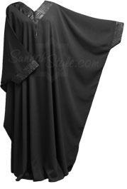 Black Onyx Bisht Abaya