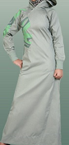 Cotton Hooded Jilbab