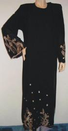 Elegant Shoulder Closed Abaya