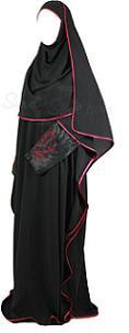 Henna-Inspired Sleeved Butterfly Abaya