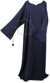Plain Flared Sleeve Abaya