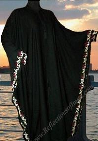 Saudi Butterfly Abaya