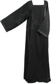 Shoulder Closed Abaya