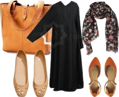 Hooded Abaya Casual Smart