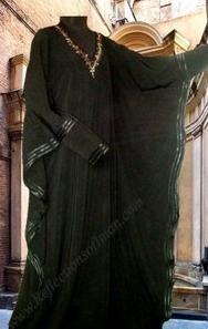 Butterfly Shoulder Abaya