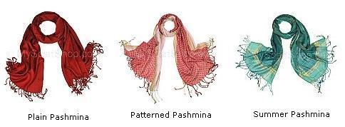 plain pashmina